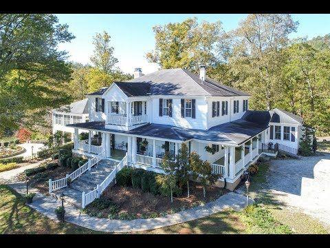 Historic Rabun Manor in Dillard, Georgia - Sotheby's International Realty - YouTube