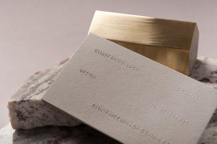 Cluny McCullagh business card design – Dylan McDonough