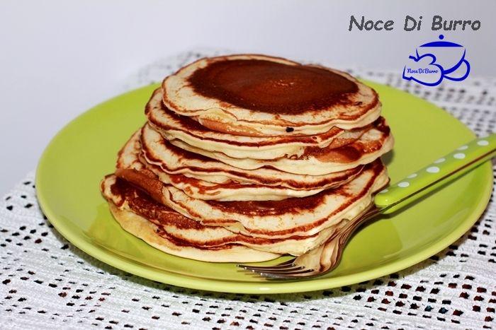 Pancake,+ottimi+con+sciroppo+d'+acero+o+cioccolata+calda