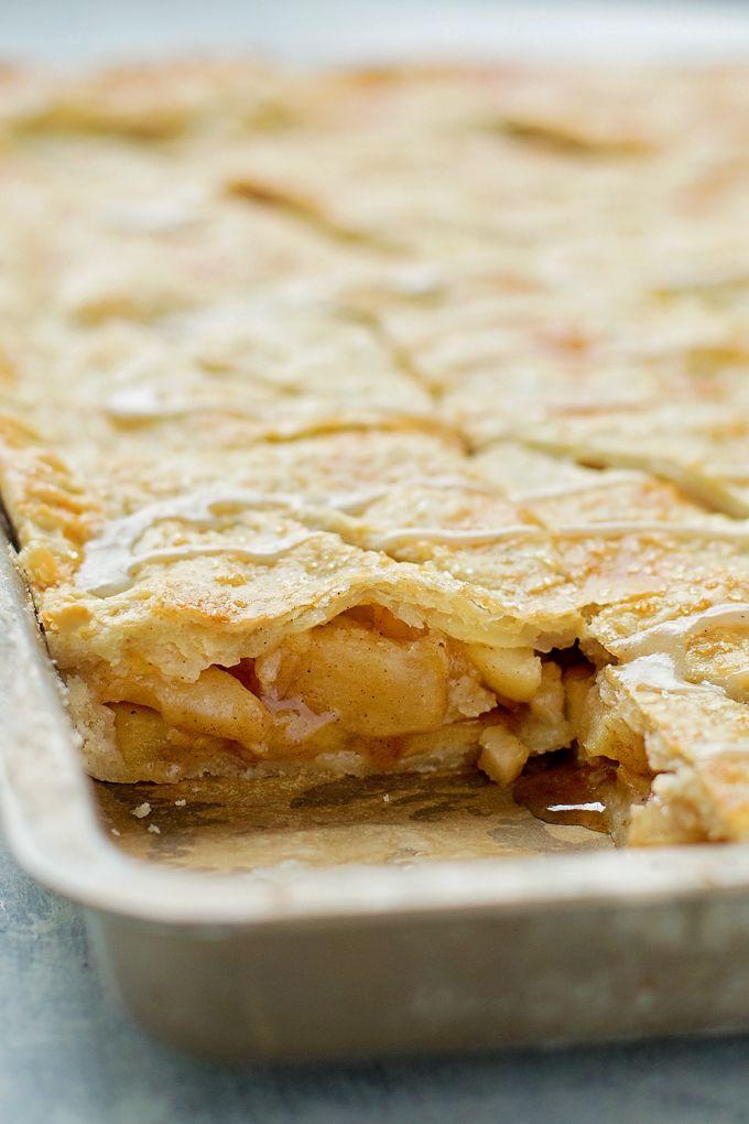 Apple Slab Pie   lifemadesimplebakes.com