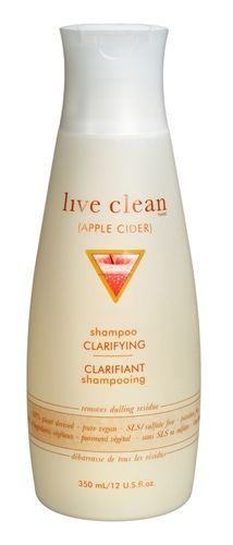 Live Clean Apple Cider Clarifying Shampoo $7.49 - from Well.ca