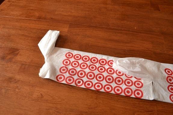 Des Sacs de Supermarché dans leur Boîte.