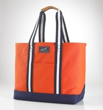 ralph lauren bag - Google Search. See more. Large Varsity Tote In Orange  $60.36
