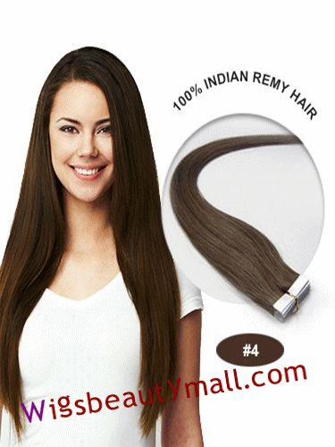 73 best tape in hair extensions images on pinterest remy human discount wholesale yaki hair extensions pretty 34 inch medium brown straight tape in indian remy human hair extensions outlet pmusecretfo Choice Image