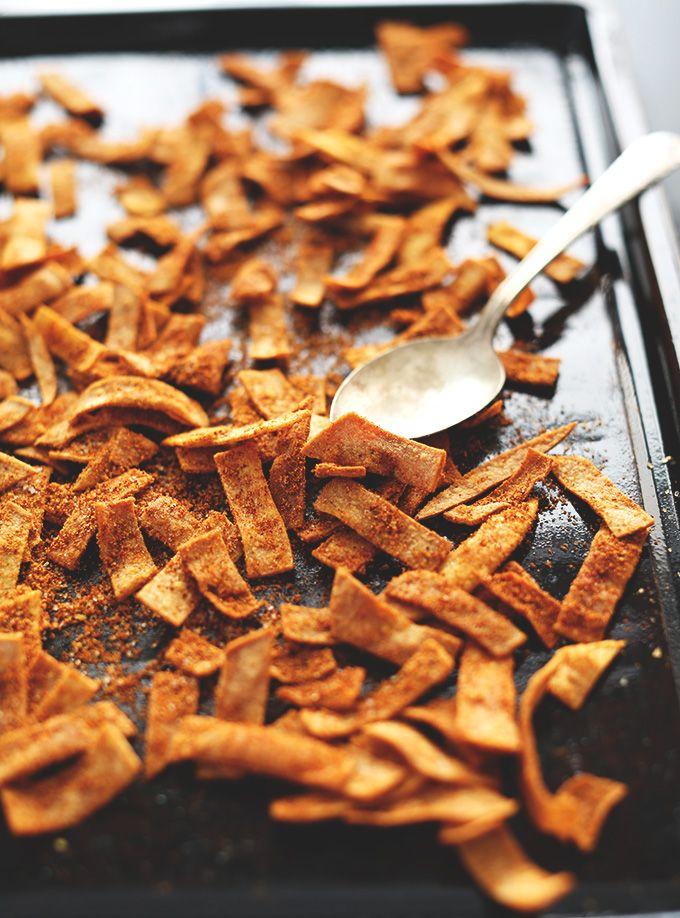 Baked Chili Cheese Fritos | Minimalist Baker Recipes