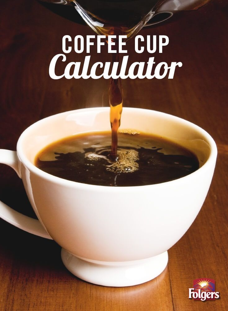 Here's an easy calculator to figure out how much water and coffee you need to brew a pot of coffee for a small gathering or a large crowd. Just enter how many cups you want to make!
