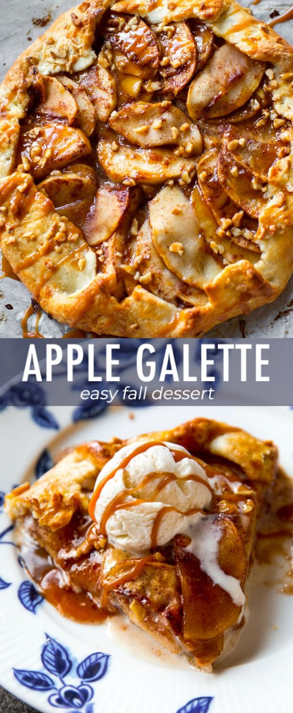 As delicious and impressive as pie, but half the work! This salted caramel apple…