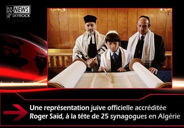 Une représentation juive officielle accréditée Roger Saïd, à la ...