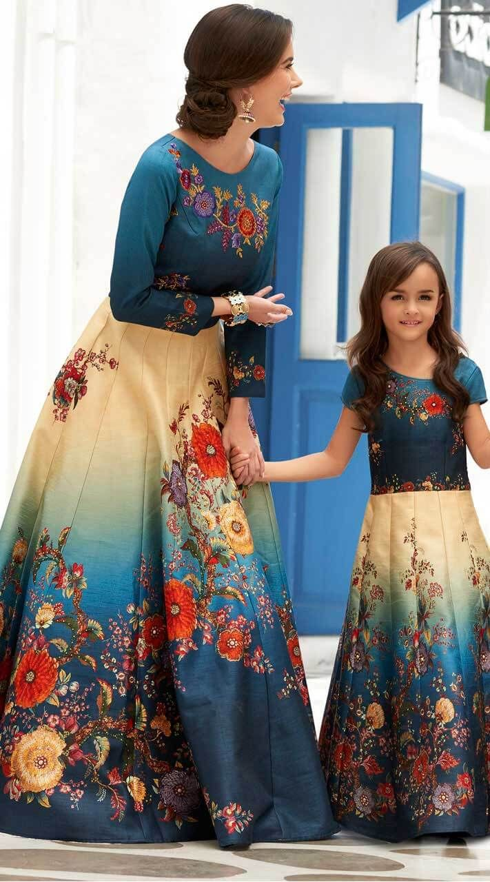 82b954af0be Buy Mother Daughter Dresses For Indian Weddings