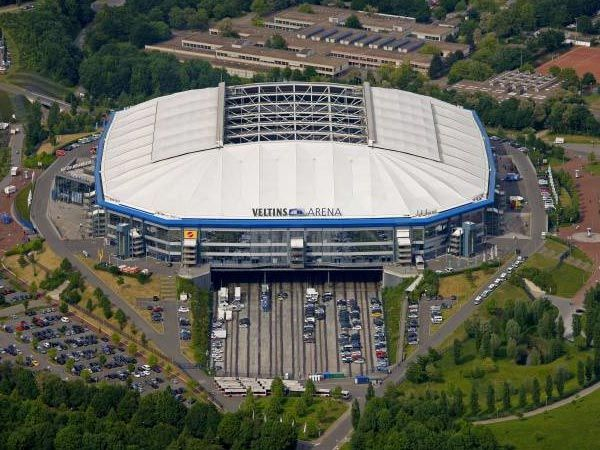FC Schalke 04, Veltins Arena | Football Ground - Tyskland | Pinterest | Germany