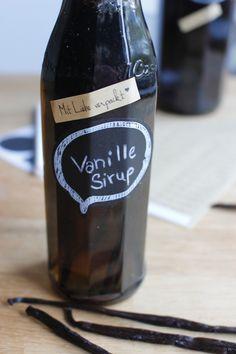 Australischer Vanille Sirup