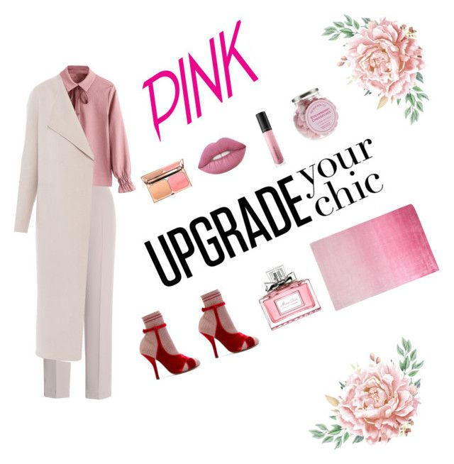 """""""18.01.06"""" by chicwomens on Polyvore featuring Fendi, Chesca, Elie Tahari, Christian Dior, Bare Escentuals, Designers Guild, Pink and feminine"""