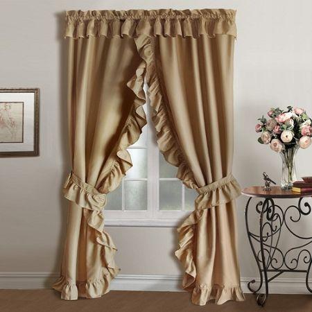 Ruffled Curtains For A Dreamy Look Drapery Room Ideas