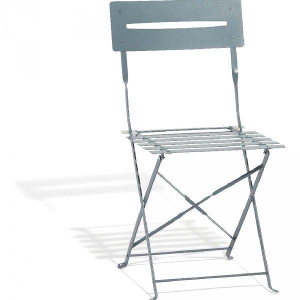 Chaise De Jardin Pliante Metal Gris Chaise Mobilier Jardin Et Parasol Rectangulaire