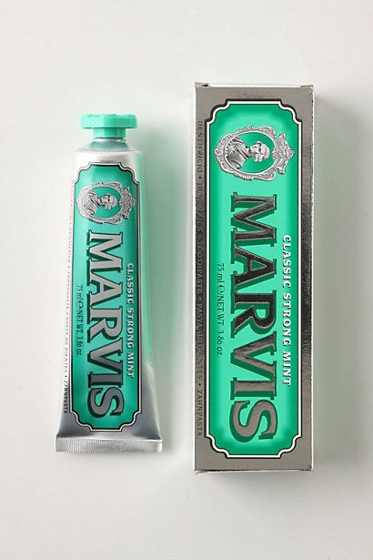 Marvis toothpaste - #packaging #design: Vintage Types, Favorite Toothpaste, Marvi Toothpaste, Toothpaste Packaging, Colors, Than, Vintage Packaging, Packaging Design, Products Packaging