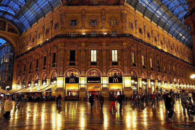 Milano - Galleria Vittorio Emanuele II by bibendum84, via Flickr