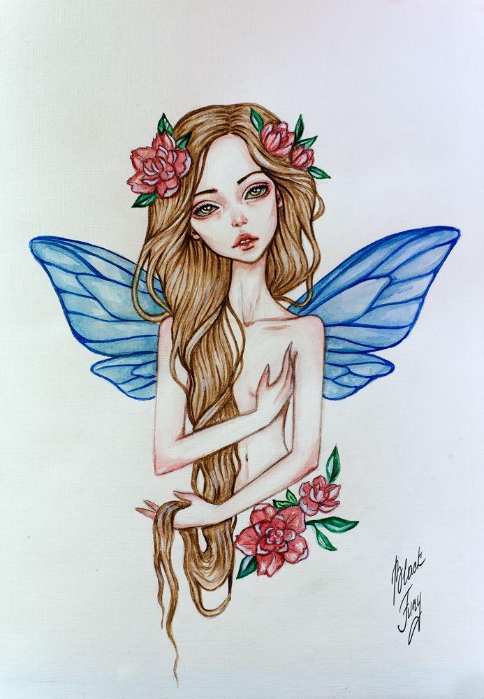 fairy by BlackFurya