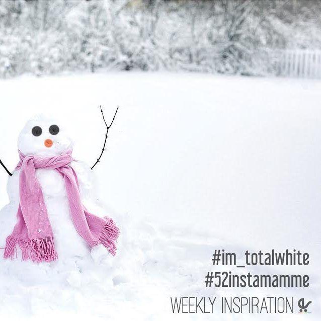 questa settimana giochiamo con il colore- non colore più bello che c'è, il bianco! la nostra weekly inspiration è Total White
