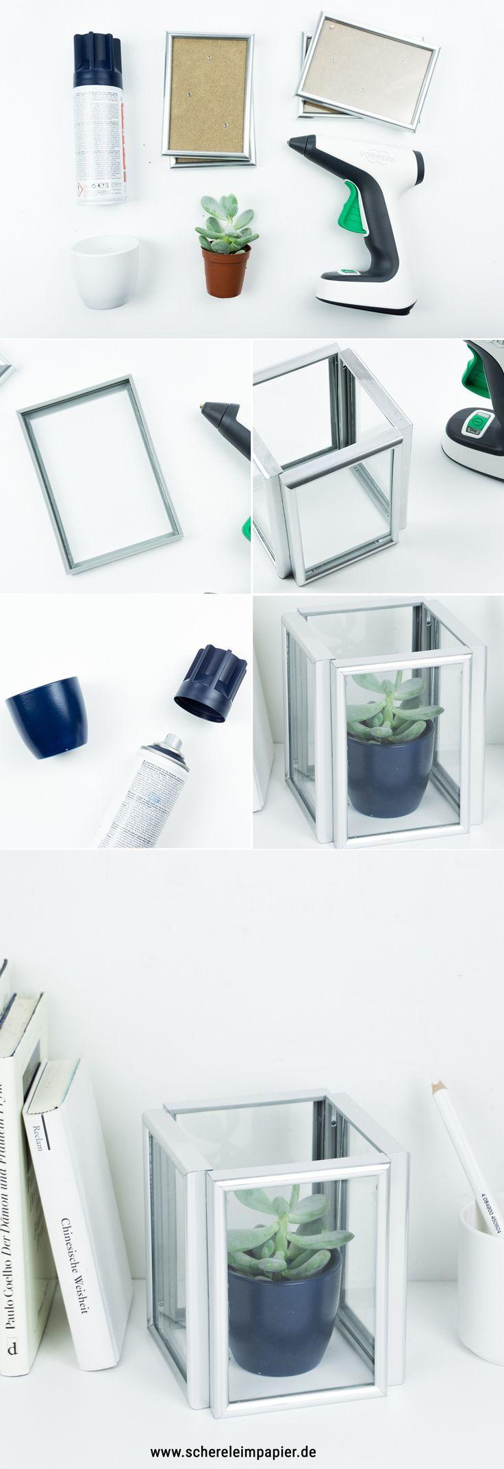 die besten 25 bilderrahmen basteln ideen auf pinterest. Black Bedroom Furniture Sets. Home Design Ideas