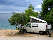 The Ford camper Van is another well known camper van conversion, built on a tough build chassis and with a strong shell around it.