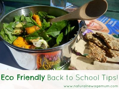 Eco-friendly back to school tips! - Natural New Age Mum