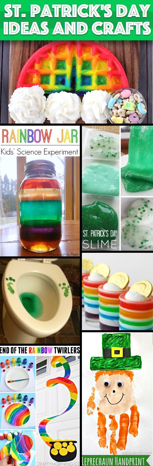 40++Great+St.+Patrick's+Day+Ideas+And+Crafts+To+Try+With+Your+Kids!