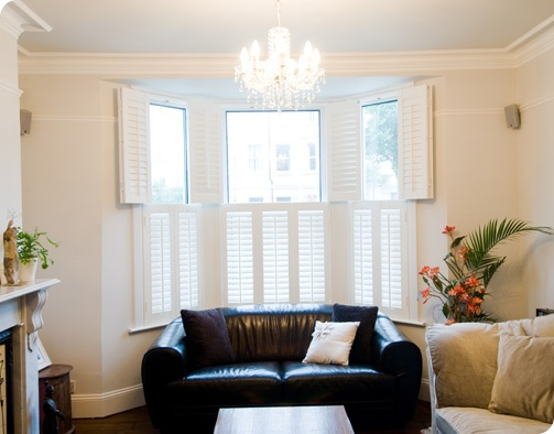 17 best images about bay window shutters on pinterest for 1930s bay window curtains