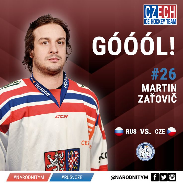 26  Martin Zatovic    G  4-2 CZE vs RUS  Channel Cup Title in Moscow  2015 https://www.facebook.com/narodnitym/photos/a.294343030740917.1073741828.292813624227191/523138011194750/?type=3