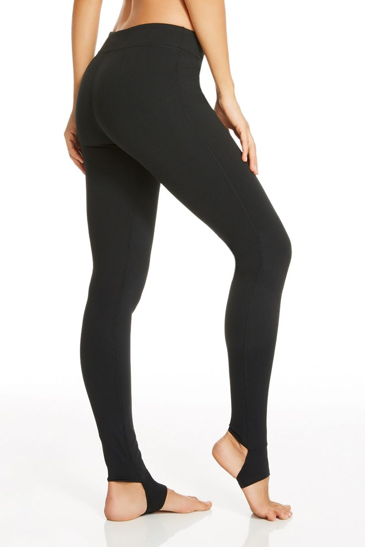 Workout and wear out! These stirrup leggings will stay in place during your wildest warrior pose. You can also wear them with boots this fall! | Houston Legging - Fabletics