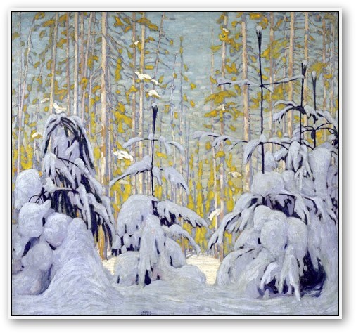 "Lawren Harris | ""Winter Woods"" 