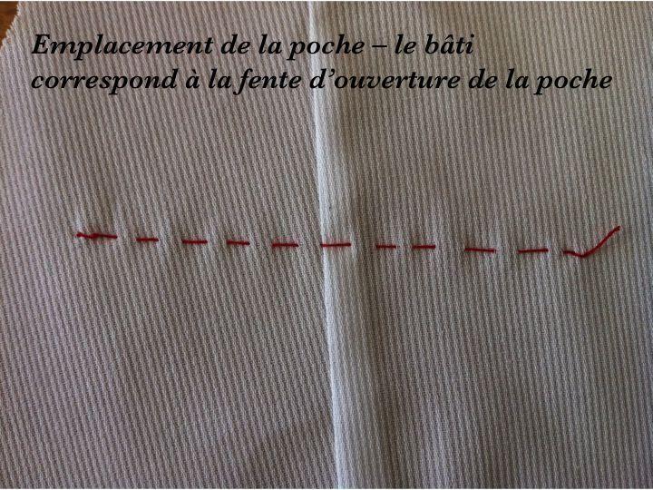 """Montage d'une poche passepoilée - Bienvenue dans le monde de la """"AUDE COUTURE"""""""