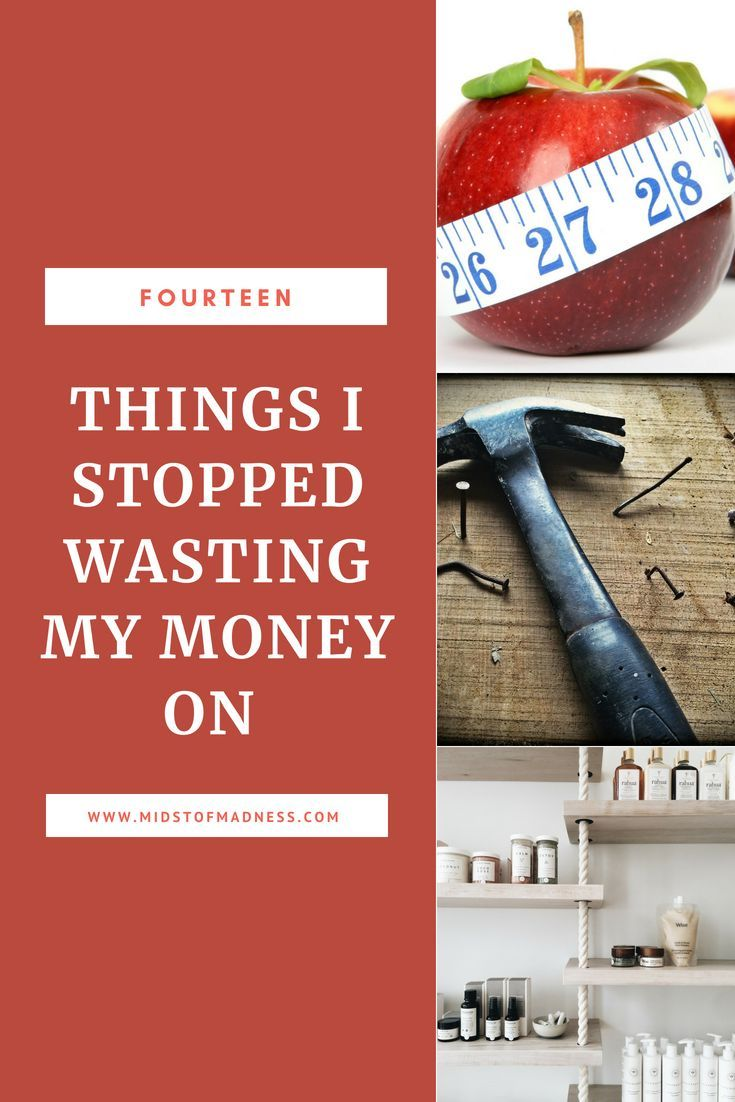 14 Things I Stopped Wasting My Money On My Money Money Budgeting