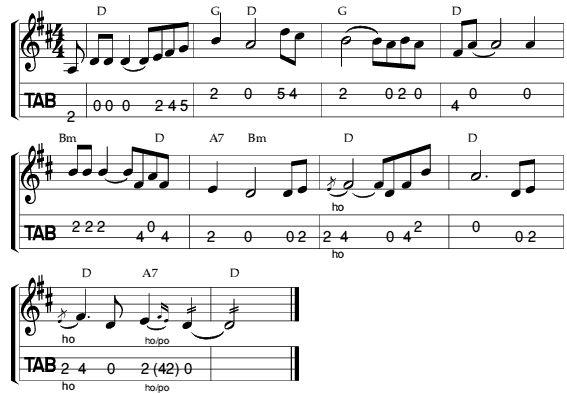 Shenandoah Mandolin Tablature | My mandolin! | Pinterest ...