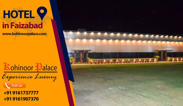 Book Now: +91 9161737777,  +91 9161907370 #Hotel in #Faizabad, #Hotel in #Ayodhya, #Banquet  #Wedding #Event, #Corporate Events, #Social Occassions, #Traditional #Party #Venue In #Faizabad. We Have An Entire Team Dedicated To Providing Outstanding Service. E-mail: info@kohinoorpalace.com