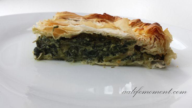 Spanakopita - Spinach Filo pastry Recipe