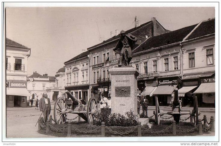 Satu Mare - Statuia Eroului Necunoscut - 1938