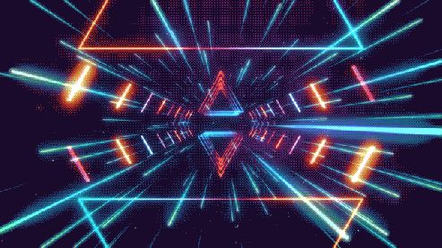 Futuristic Space colorful cool gifs gif futuristic