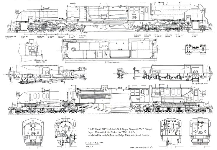 train blueprints