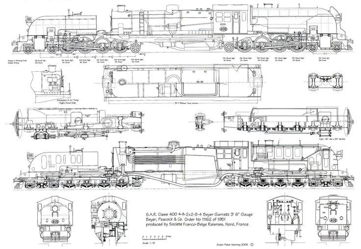 train blueprints