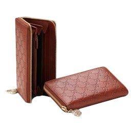 Gucci Continentale Portafoglio Con Blocco Fascino G Rosso 212110 GI594