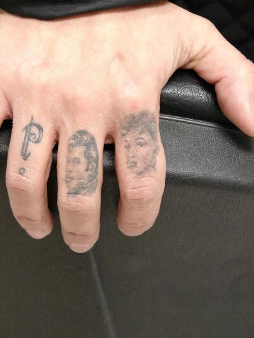 Electric Tattoos & Misc. Artwork (Hand/neck/finger/face tattoos ...