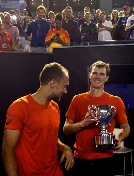Jamie Murray Wins in Doubles; Andy Murray Has a Long Night, Too... #AndyMurray: Jamie Murray Wins in Doubles; Andy Murray Has… #AndyMurray
