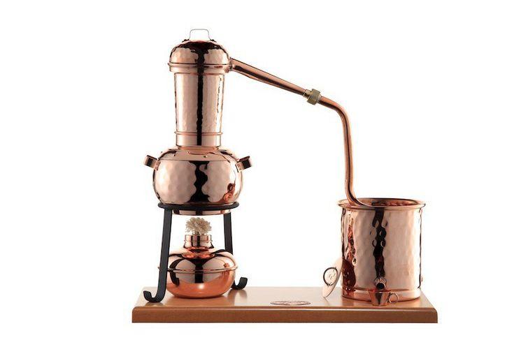 CopperGarden® Destille Arabia 0,5 Liter mit Zubehör - legal Destillieren