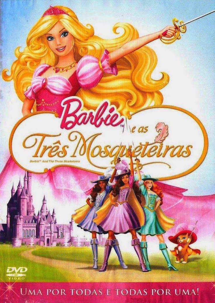 Assistir Barbie E As Tres Mosqueteiras Dublado 2009 Barbie Movies The Three Musketeers Barbie Cartoon