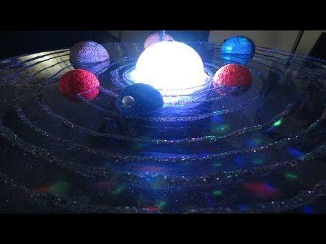 Sistema solar giratorio paso a paso - YouTube