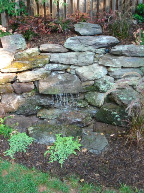 Pondless water feature pondless water features classic for Landscaping rocks northern virginia