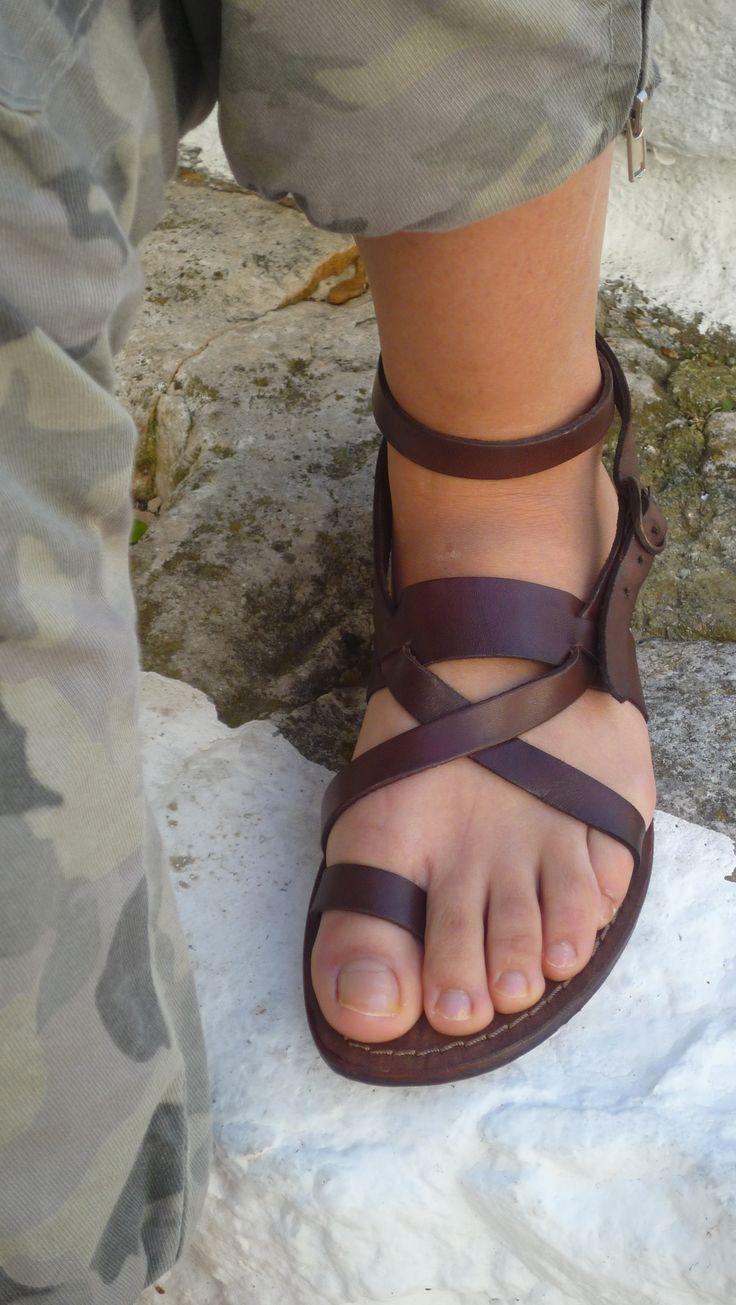 Leather Sandals #sandalishop