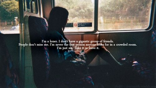 i'm a loner