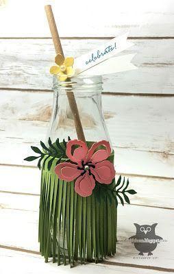 26 sencillas y útiles ideas con Flores de papel Hawaianas - Flores de Papel
