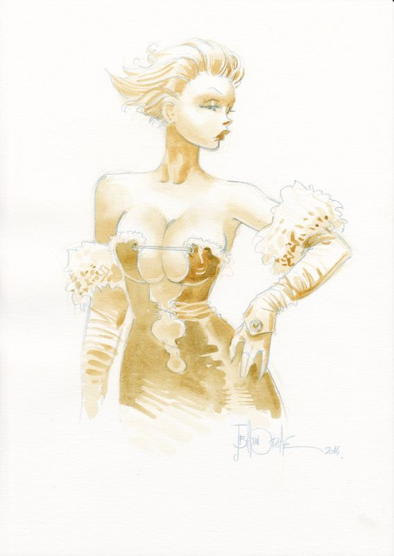Manie Ganza (Azimut) par Jean-Baptiste Andreae - Illustration